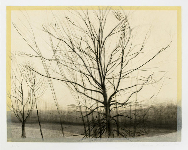 , 'The Pin Oak At The Pond,' 1985-1986, Brooke Alexander, Inc.