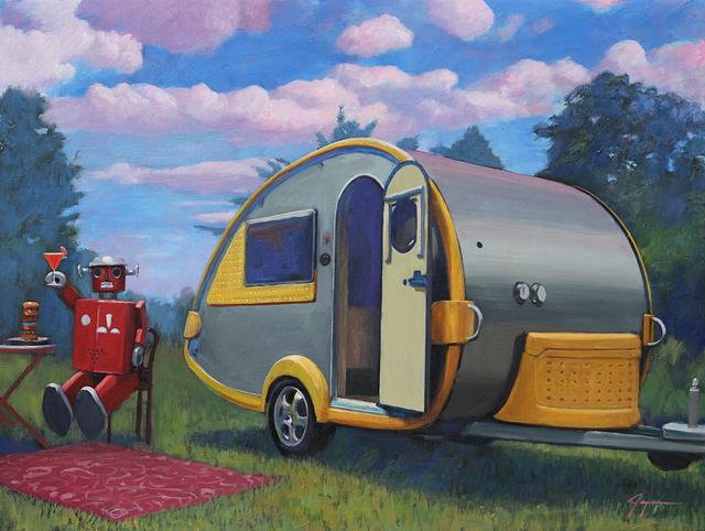 , 'Happy Camper,' , Corey Helford Gallery