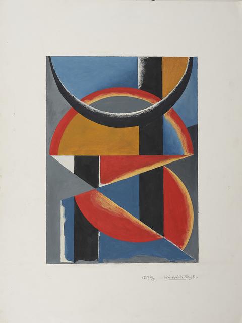 Lajos Kassák, 'Composition', Leclere