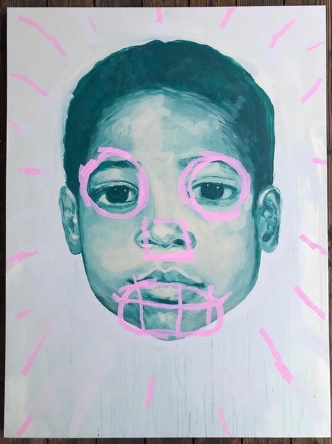 ", '""Baby Basquiat"",' 2018, Joseph Gross Gallery"