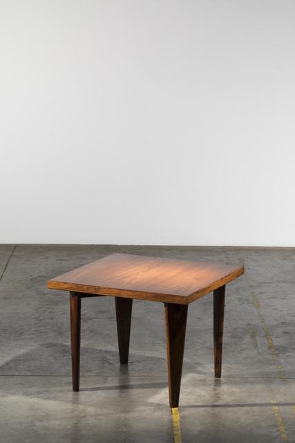 Pierre Jeanneret, 'Square table', ca. 1955, Galerie Downtown - François Laffanour