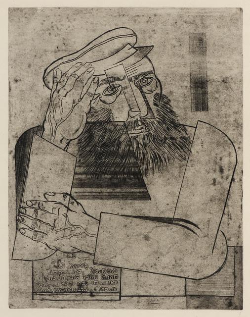, 'Ein Jude,' ca. 1926, Ben Uri Gallery and Museum