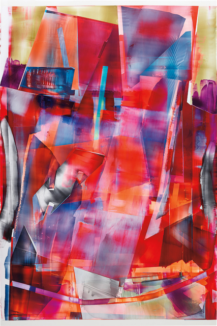 Kristin Baker, 'Back a Horse', 2011, Painting, Acrylic on PVC, Phillips