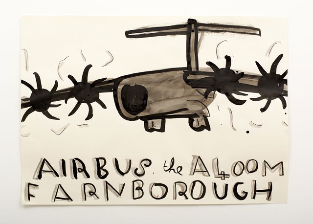 , 'Airbus,' 2014, Willas Contemporary