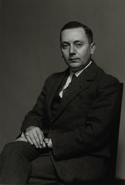 August Sander, 'Art Scholar [Hans-Friedrich Secker], 1930', Galerie Julian Sander