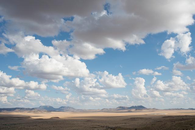 , 'West Texas: Fort Davis plain from Davis Mountains,' 2012, PDNB Gallery