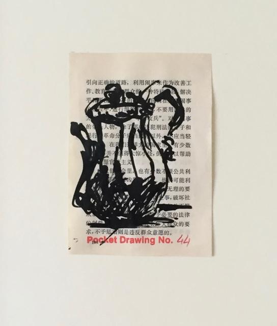 , 'Pocket Drawing No 44,' 2014, Joanna Bryant & Julian Page
