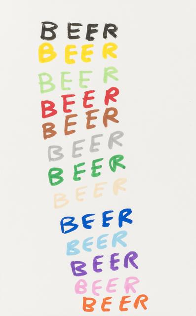 David Shrigley, 'Beer', 2007, RAW Editions