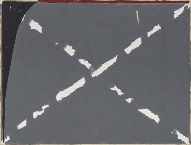, 'Gekruiste Krijtlijn en Spie,' 1980, Zeno X Gallery