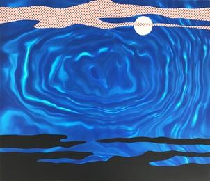 Moonscape from the 11 Pop Artist portfolio, Volume I