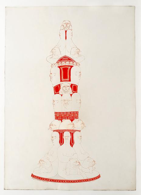 May Stevens, 'Fireplug Fountain Monument', 1970, Mary Ryan Gallery, Inc