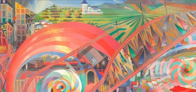 , 'Voyage en chemin de fer (Traveling by Rail),' 1927, Galerie Le Minotaure