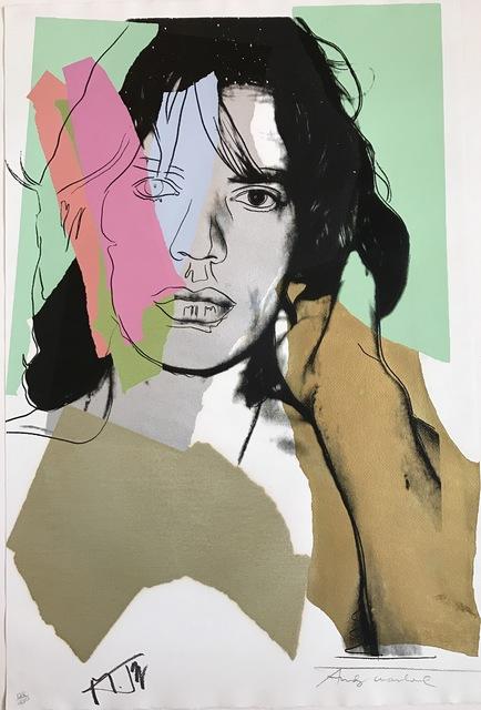 Andy Warhol, 'Mick Jagger F&S II.140', 1975, Fine Art Mia