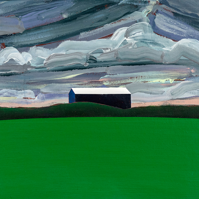 , 'Blue Barn, Green Field,' 1984, Caviar20
