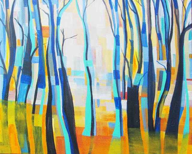 Eva Holz, 'Bosque Cerúleo #3', 2018, ArtLabbé Gallery