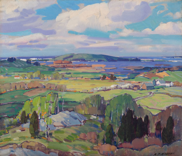 Aldro Thompson Hibbard, 'Island Road and Hog Island, Essex, Massachusetts', 20th Century, Vose Galleries