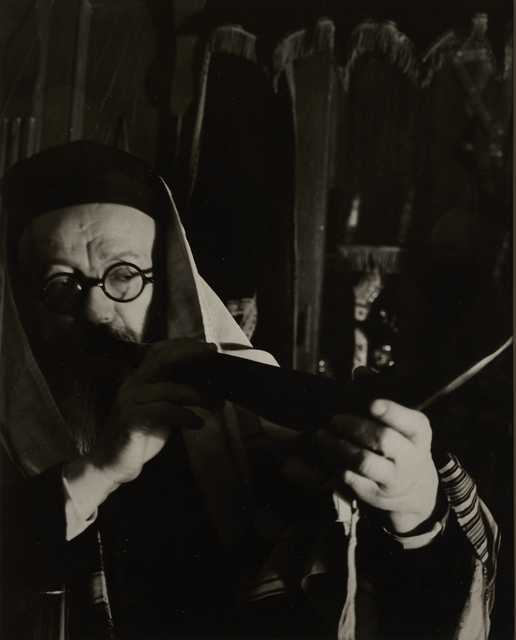 , 'Blowing the Shofar,' ca. 1935, Vision Neil Folberg Gallery