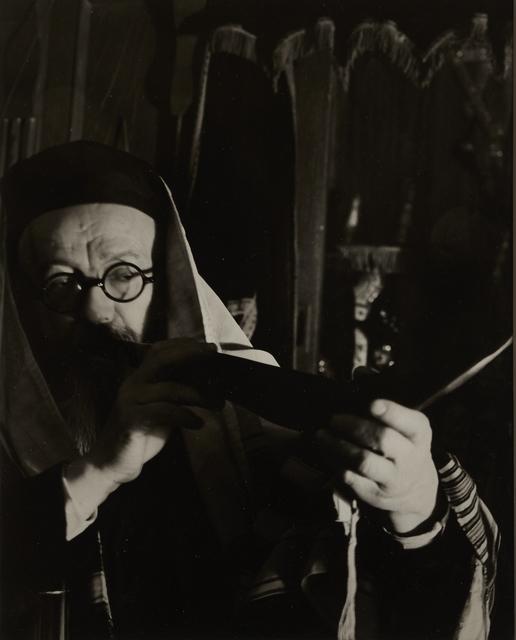 , 'Blowing the Shofar,' ca. 1935, Vision Neil Folberg Gallery