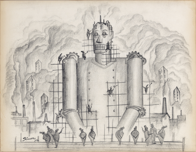 , 'Untitled (Industrial Frankenstein I),' 1932, Grey Art Gallery