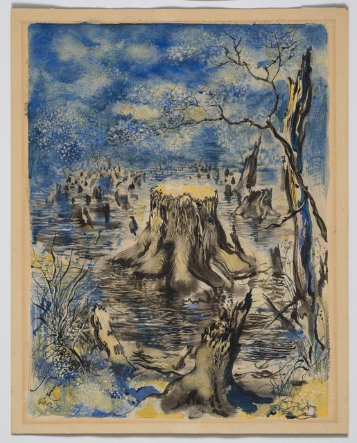 George Grosz, 'Garnet Lake', 1943, David Nolan Gallery