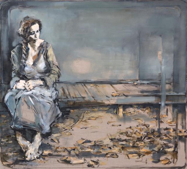 "Gabriel Schmitz, '""...and outside the trees""', 2019, GALERIA JORDI BARNADAS"