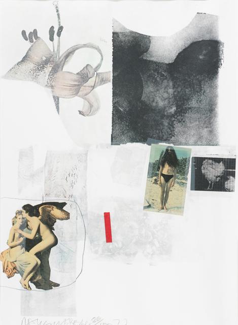 Robert Rauschenberg, 'Untitled', 1973, Print, Screenprint in colors, Rago/Wright