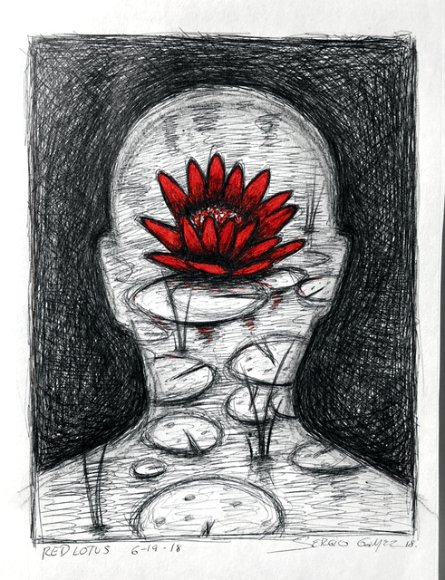 , 'Red Lotus,' 2018, ACS GALLERY
