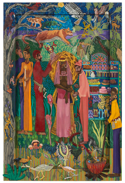 , 'Vodou Ritual Part II: The Coronation,' 1999, JAYJAY