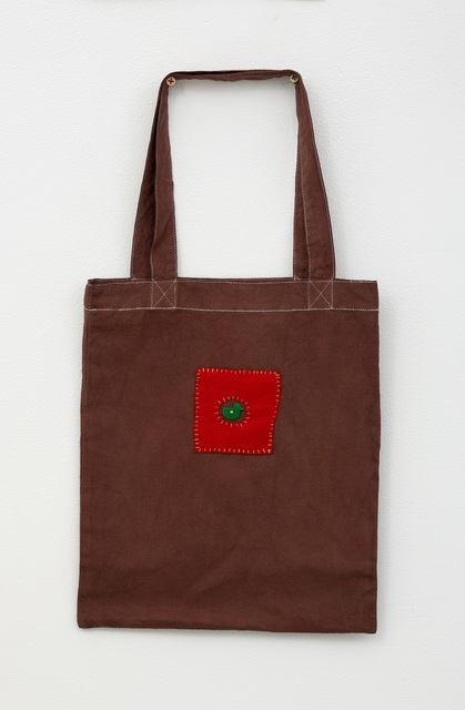 Noel McKenna, 'Brown tote bag with duck in circle', 2019, Darren Knight Gallery