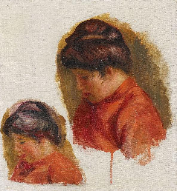 , 'Femme au corsage rouge (Etude de Gabrielle),' ca. 1905, BAILLY GALLERY