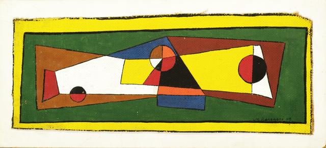 , 'Untitled,' 1949, Corbett vs. Dempsey