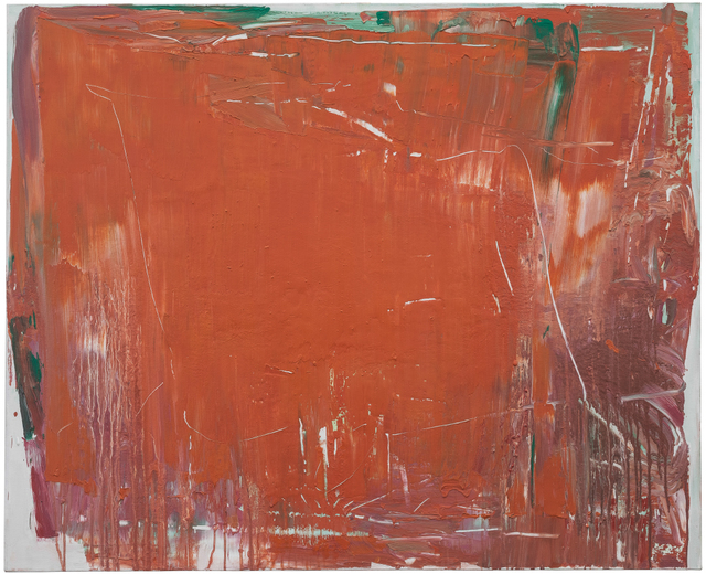 , 'Composition Red 14 - 21,' 2014, CYNTHIA-REEVES