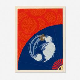 Erte (Romain de Tirtoff), 'Legerte (from The Twenties Remembered Again series),' 1978, Wright: Prints + Multiples (January 2017)