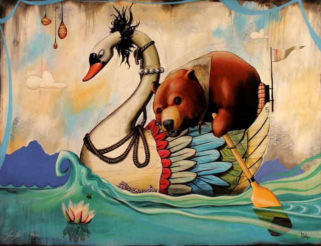 , 'Paddling Bear,' , Ruckus Gallery