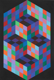 Victor Vasarely, 'Gestalt-Sin,' 1969, Sotheby's: Contemporary Art Day Auction