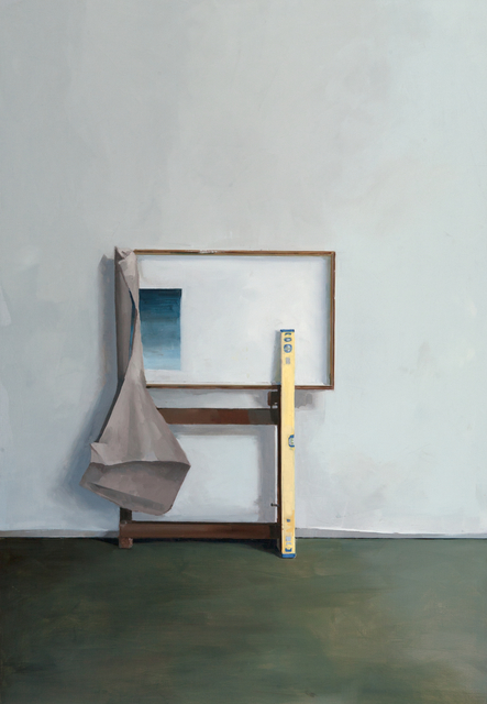 Jenny Brillhart, 'Easel Holding the Materials; Noonday (Overcast)', 2019, Dowling Walsh