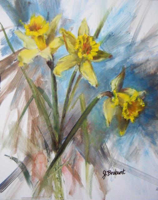 , 'Narcisus Spring,' 2019, The Galleries at Salmagundi