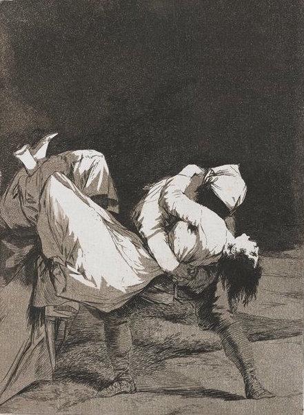 , '8. Que se la llevaron!,' 1799, Eames Fine Art