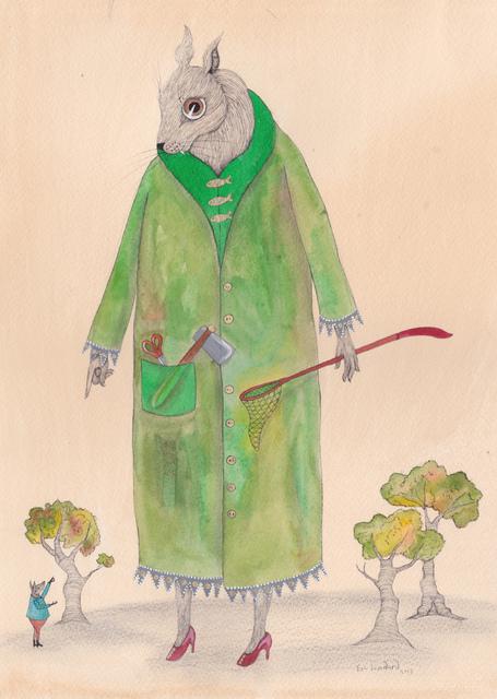 , 'The Big Green Lady,' 2013, Bluerider ART