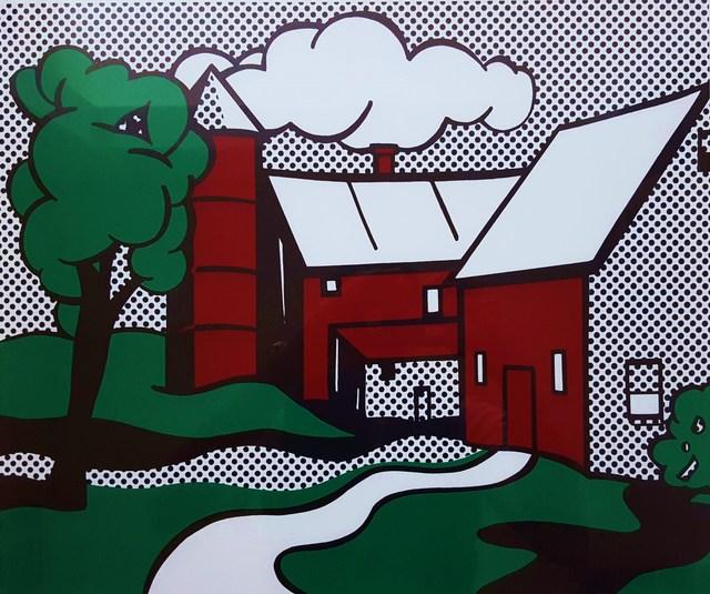 Roy Lichtenstein, 'Red Barn', 1969, Print, Screenprint, Graves International Art