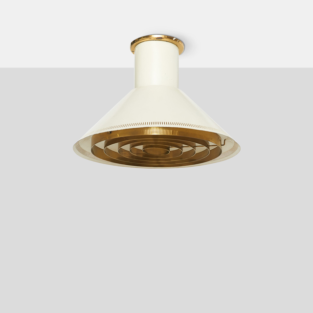 , 'Ceiling Light for Taito OY,' c1950s, Almond & Co.