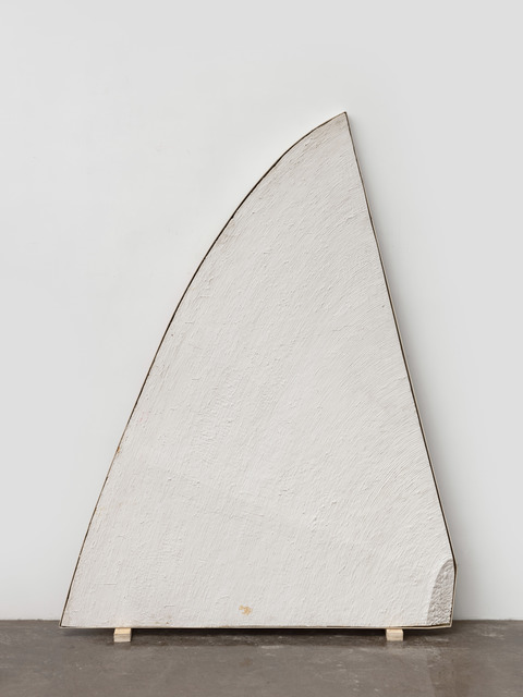 Wang Guangle, 'Untitled 110423-2', 2011, Mixed Media, Plaster and wall coating on woodbaord, Beijing Commune