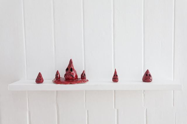 , 'Blood drops,' 2018, Lisa Kehler Art + Projects