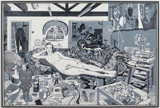 , 'Reclining Artist,' 2017, Paragon