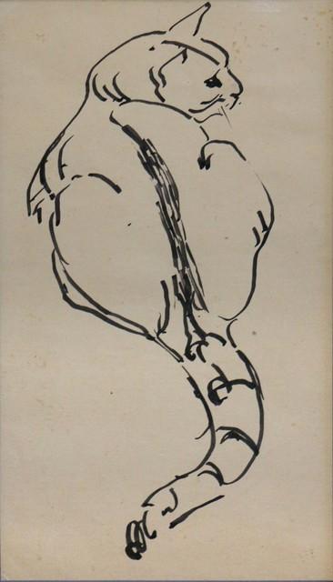 Waldo Park Midgley, 'Domestic House Cat', ca. 1950, Phillips Gallery