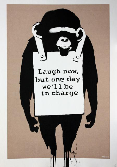 Banksy, 'Laugh Now', 2003, Gormleys Fine Art
