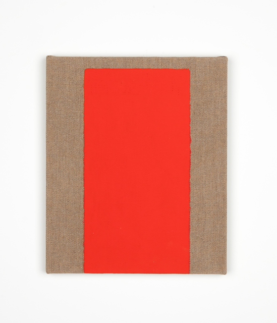 , 'Untitled (Standing Red),' 1966-1981, Kristof De Clercq