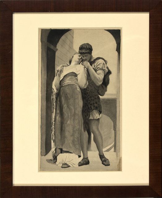 , 'Couple,' ca. 1900, Thurston Royce Gallery of Fine Art, LTD.