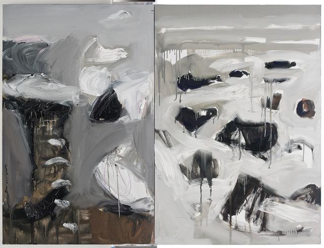 , 'Cailloux,' 2017, Galerie Diane de Polignac & Chazournes
