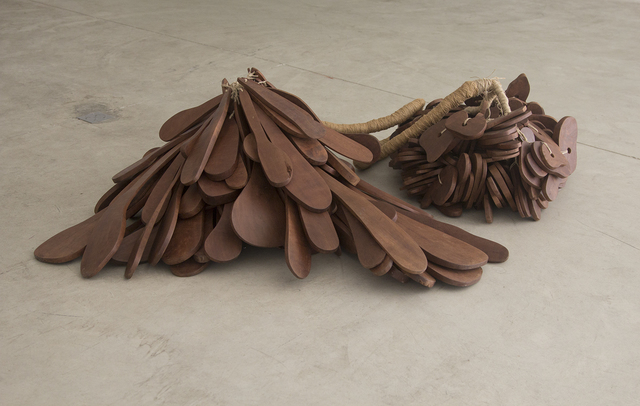 Marcelo Silveira, 'Untitled #2', 2000, Sculpture, Wood and jute, Galeria Nara Roesler